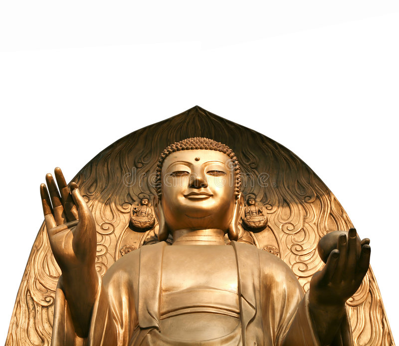 Buddha magnífico fotos de archivo libres de regalías