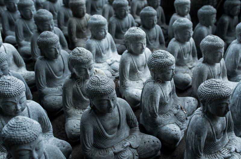 Buddha many small buddhas royalty free stock photo