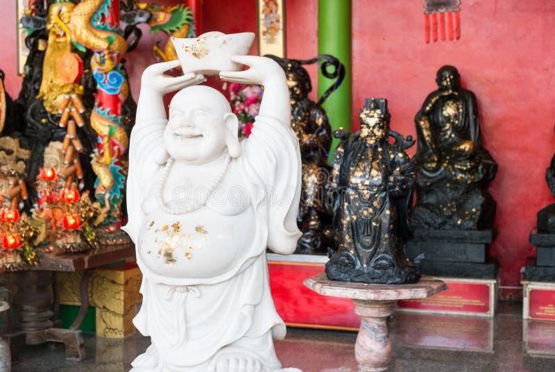 Buddha med Ja, offentligt läge arkivbild