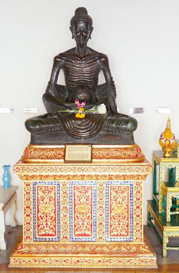 Buddha morrendo de fome imagem de stock