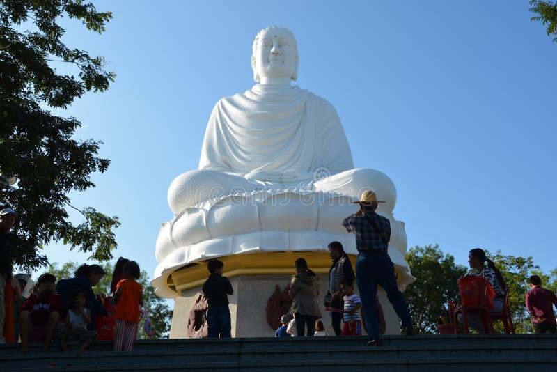 Buddha Nha Trang fotografering för bildbyråer