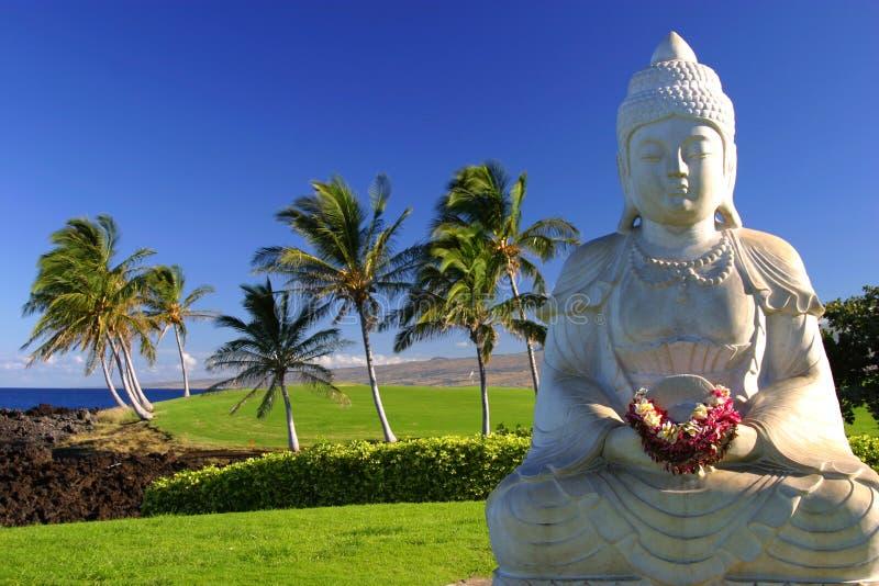 Buddha no paraíso foto de stock royalty free