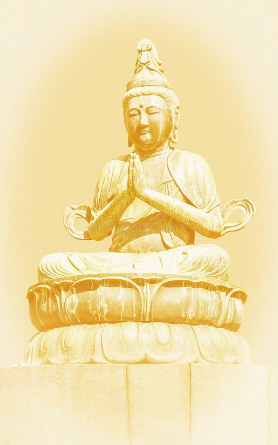 Download Buddha stock photo. Image of grainy, vintage, prayer - 34220464