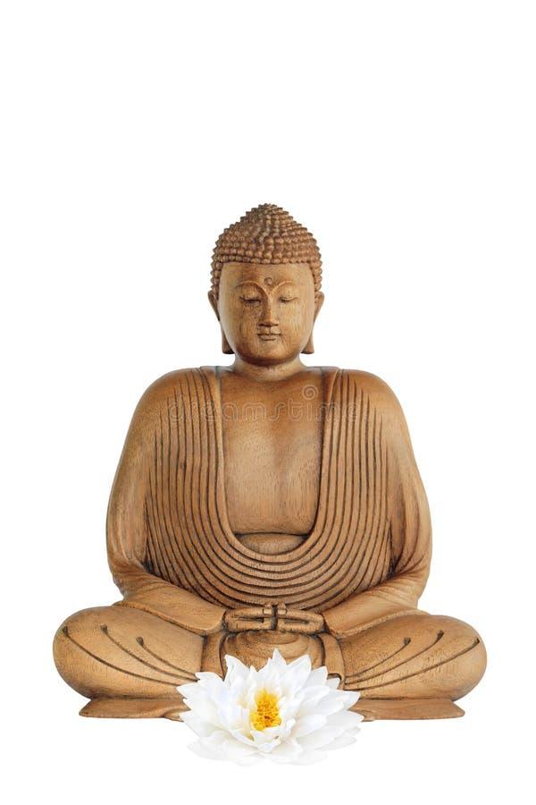 Buddha a pace fotografie stock libere da diritti