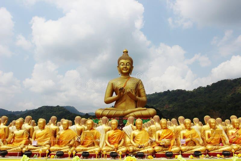 Buddha park stock image