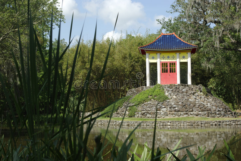 Buddha-Pavillion stockfotos