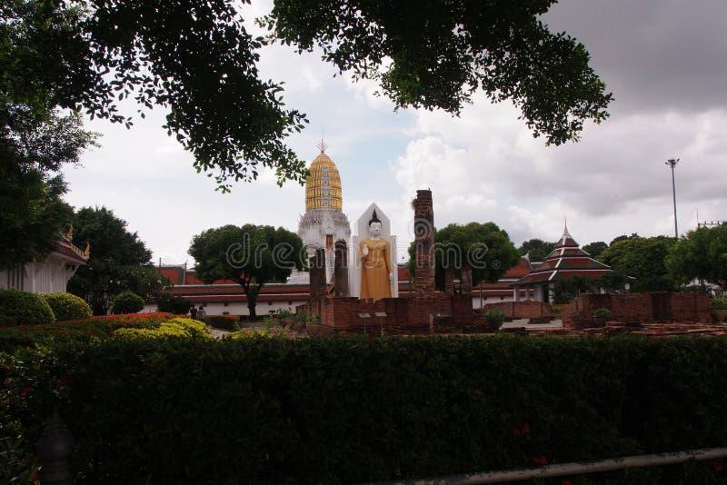 The Buddha in Phisanulok,Thailand stock photo