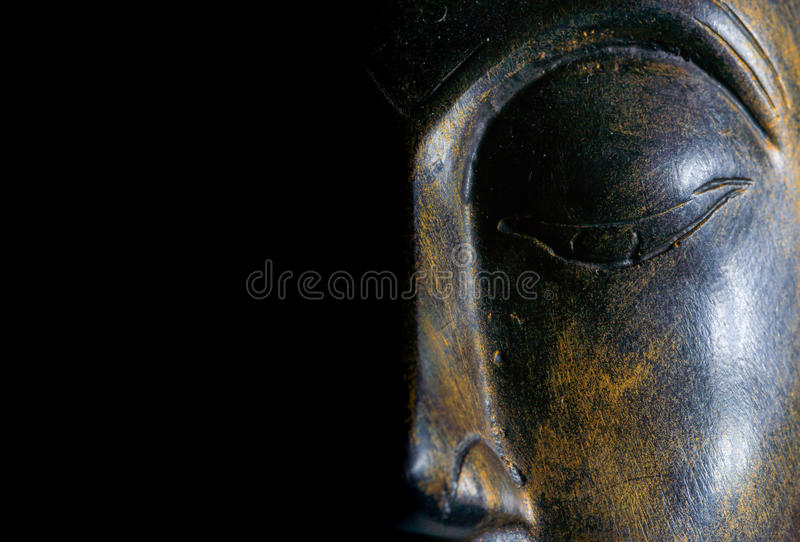 Download Buddha portrait isolated. stock photo. Image of isolated - 83705932