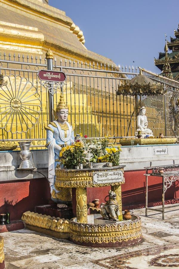 Buddha postać obrazy stock