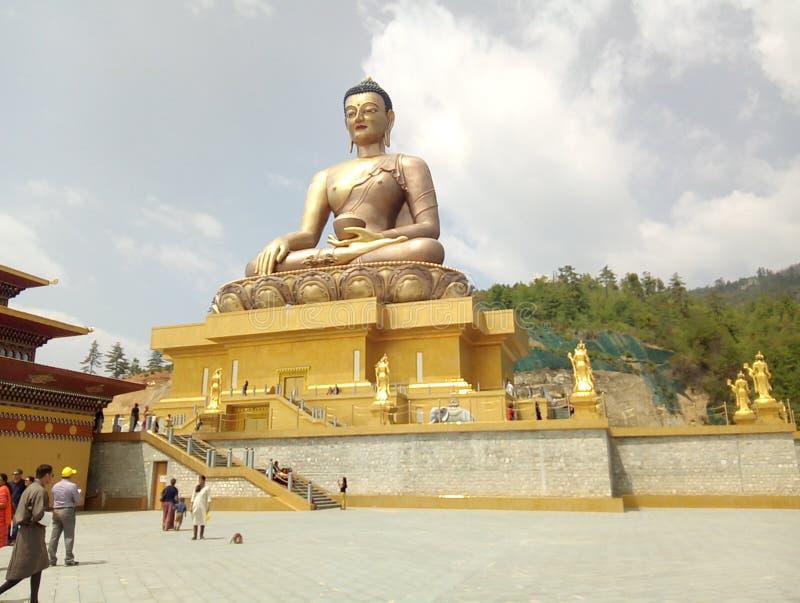 Buddha punkt zdjęcia royalty free