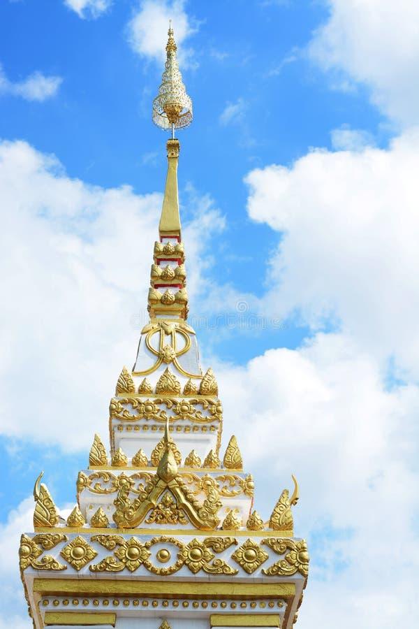BUDDHA RELIKER INNEHÅLLER INOM royaltyfria foton