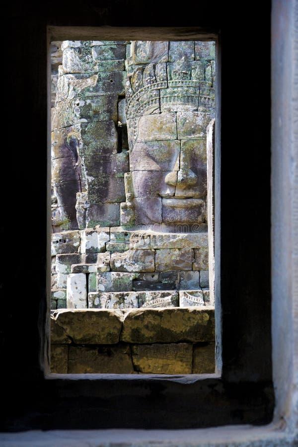 Download Buddha's Face At Bayon Temple, Cambodia Stock Photo - Image: 8553358