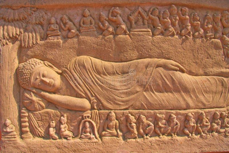 buddhas nirvana royalty free stock photos image 13937998
