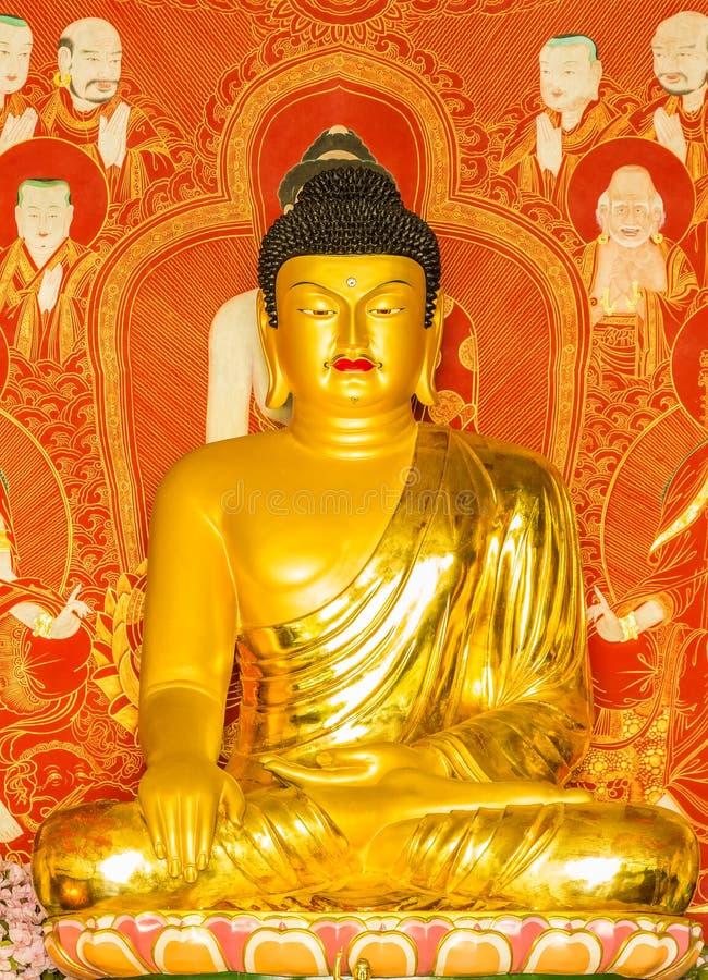 buddha shakyamuni obrazy royalty free