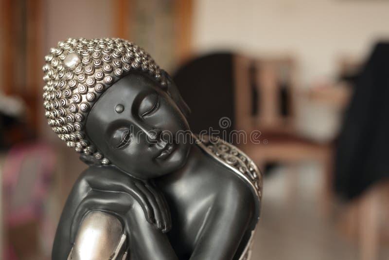 Buddha siedząca dekoracja obrazy stock