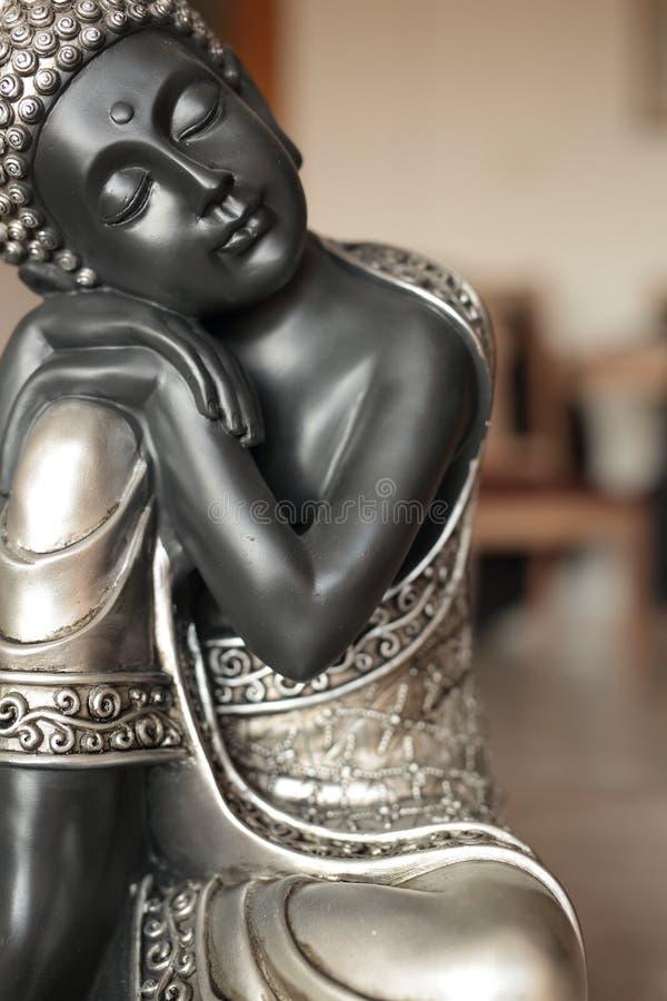 Buddha siedząca dekoracja obrazy royalty free