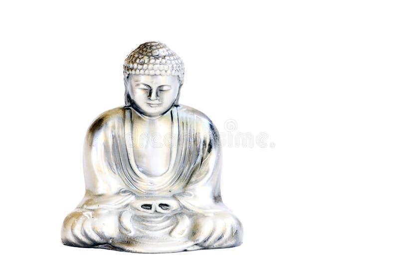 buddha sitting royaltyfri fotografi