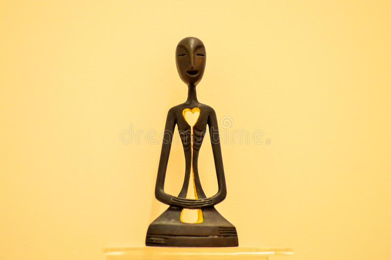 Buddha-Sitzen stockfotografie