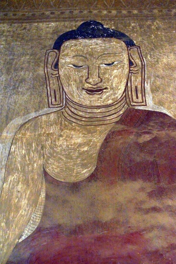 Buddha smiling royalty free stock photos