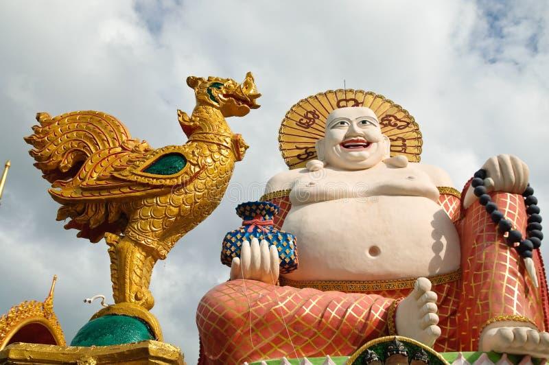 Buddha sonriente fotografía de archivo libre de regalías