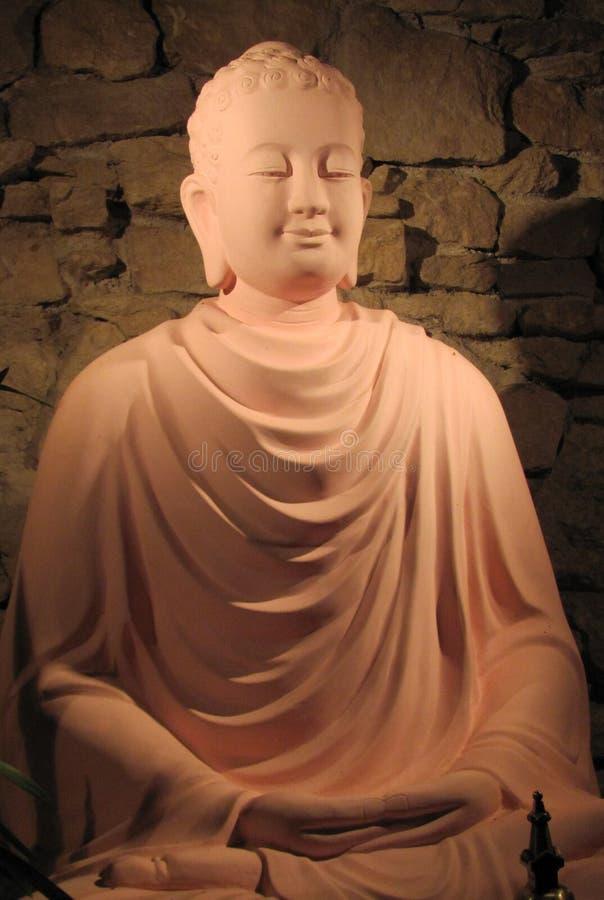 Buddha sorridente fotografie stock libere da diritti