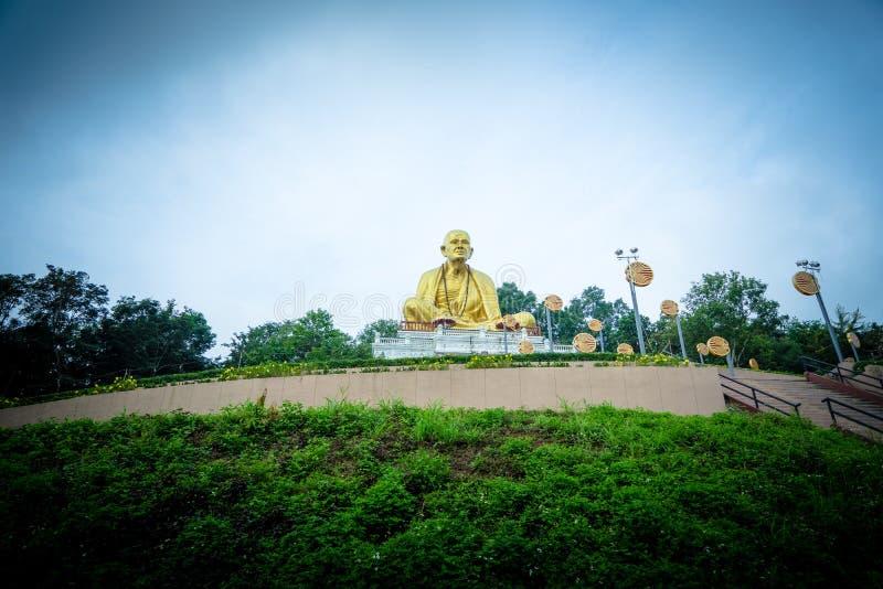 Buddha Sri Wichai Statue al parco storico nordico della Tailandia fotografie stock libere da diritti
