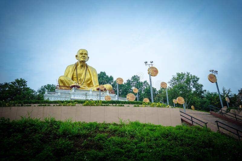 Buddha Sri Wichai Statue an Nord-historischem Park Thailands stockbild