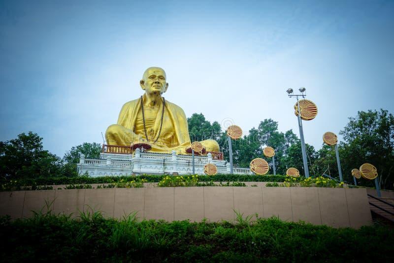 Buddha Sri Wichai Statue an Nord-historischem Park Thailands stockbilder