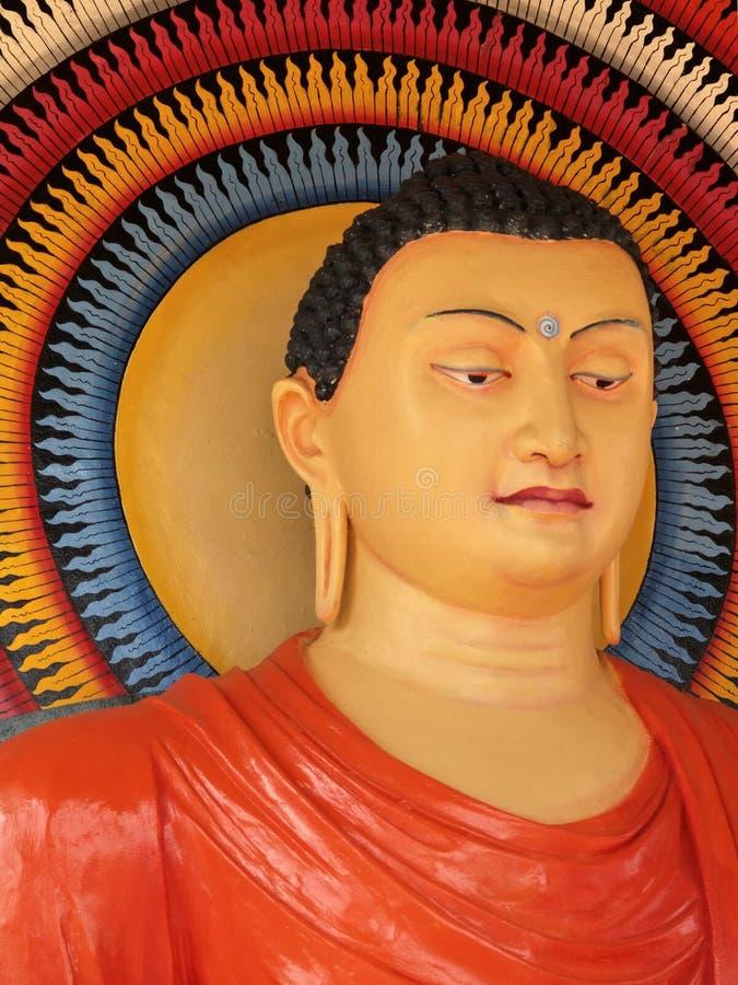 Buddha srilanqués fotografía de archivo