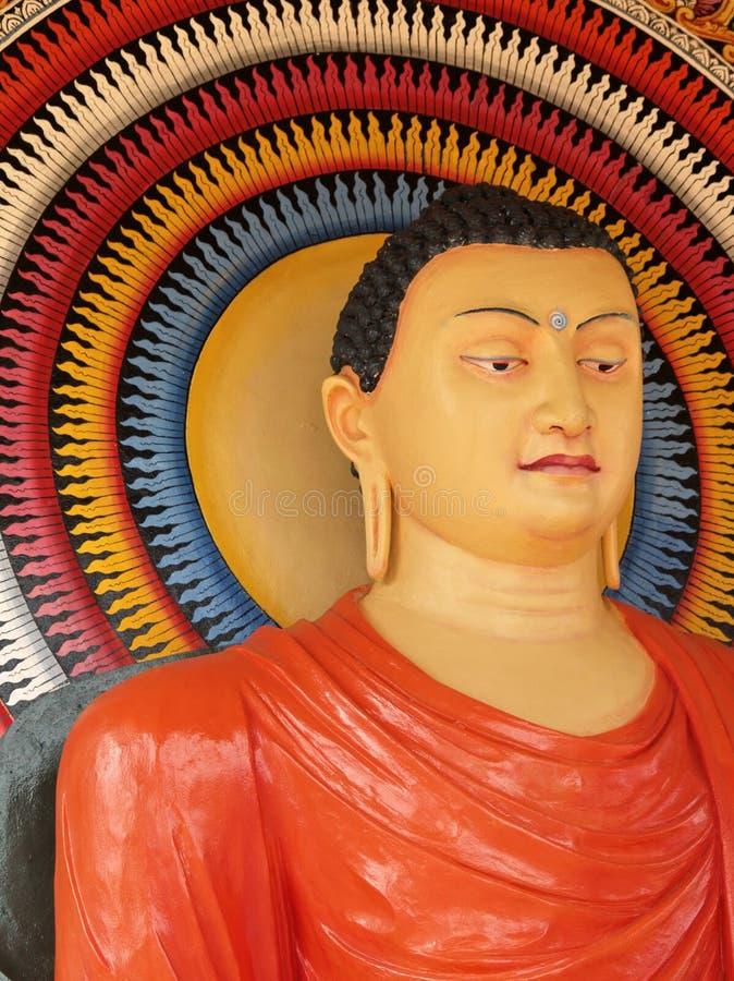 Buddha srilanqués foto de archivo