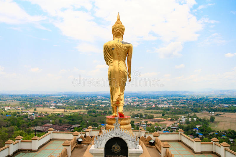 Buddha stand royalty free stock photography