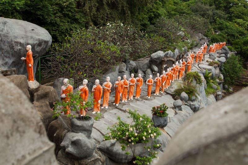 Buddha statua, Dambulla, Sri Lanka obrazy royalty free