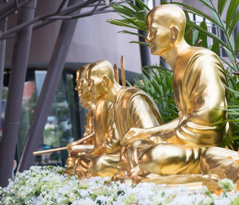 Buddha statua dla cześć obraz stock