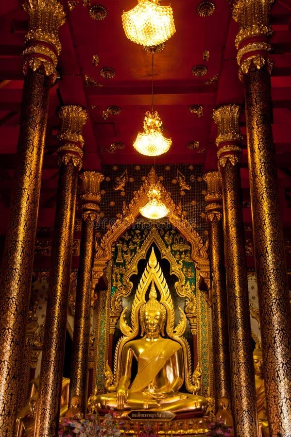 Buddha statua Tajlandia Phitsanulok obraz royalty free