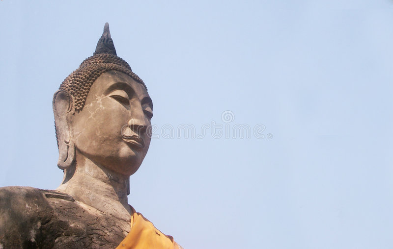 Download Buddha statue stock image. Image of blue, buddhism, ears - 105321