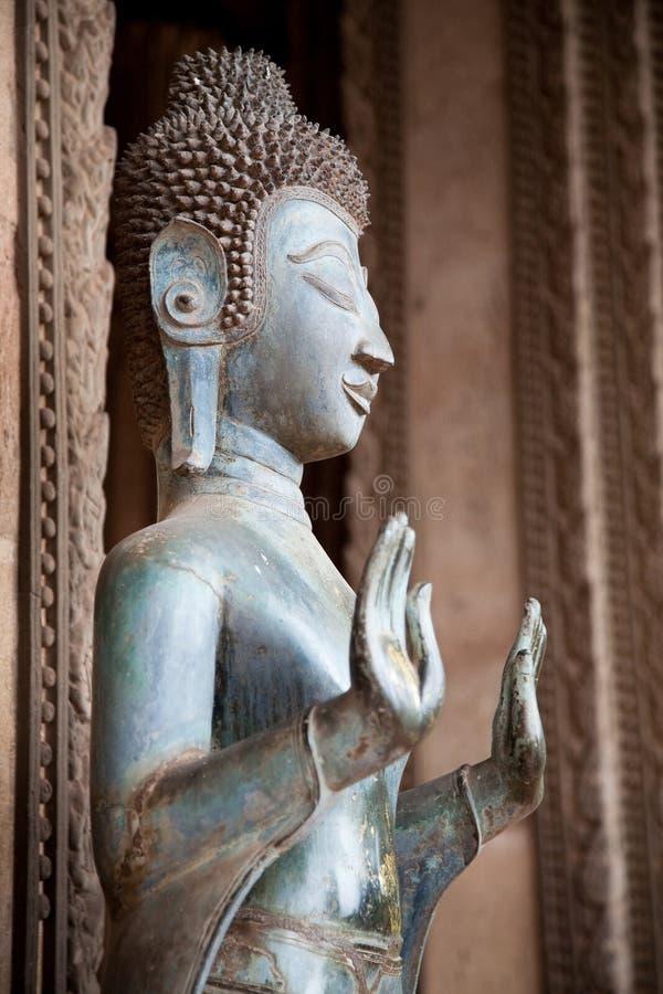 Download Buddha statue. stock photo. Image of buddhism, bronze - 18264968
