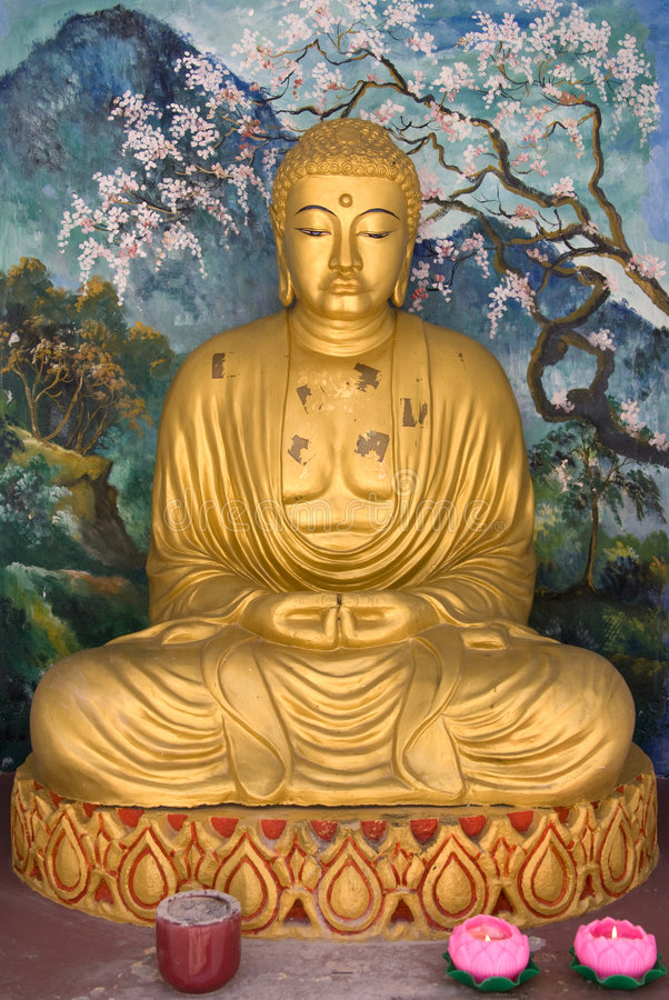 Free Buddha Statue Royalty Free Stock Photography - 7476717