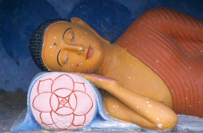 Buddha statue, Anuradhapura, Sri Lanka stock photos