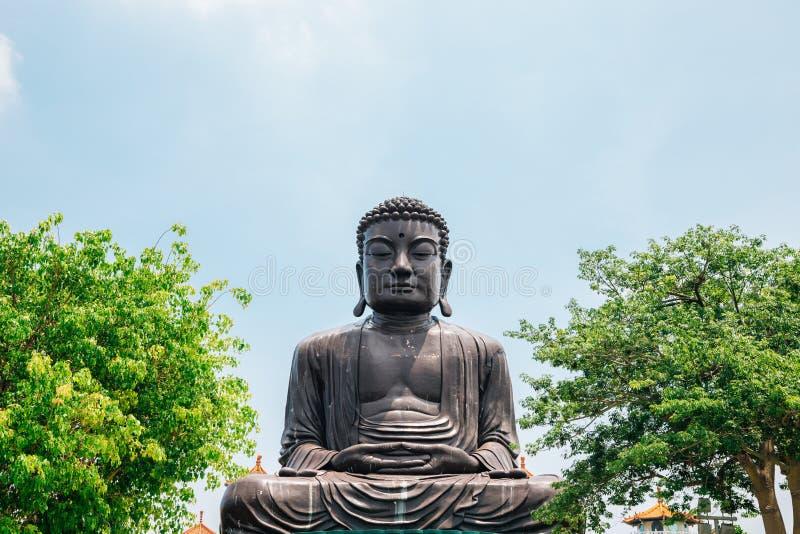 Buddha-Statue bei Baguashan in Changhua, Taiwan lizenzfreies stockbild