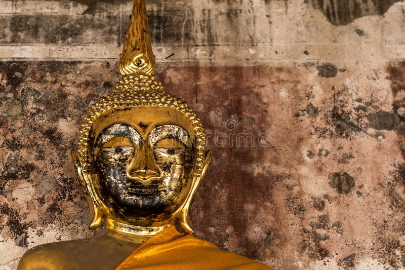 Buddha statue of Thailand and Asia stock photography