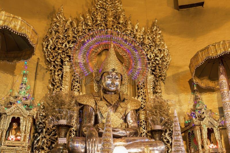 Kaba Time: Kaba Aye Pagoda In Yangon, Burma Stock Photo
