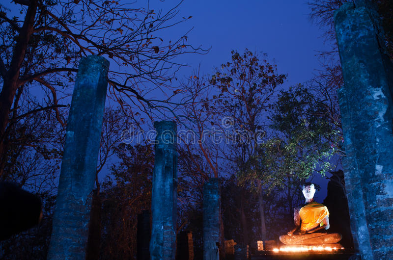 Download Buddha Statue In Sukhothai Historical Park Stock Image - Image of prayer, asia: 26800719