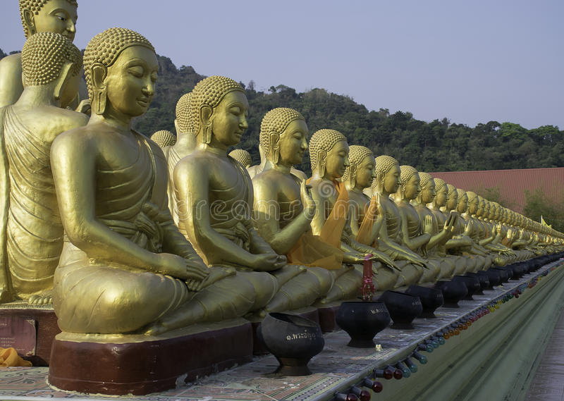 Buddha-Statue Thailand lizenzfreies stockfoto