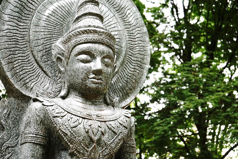 Buddha-Statue, Thailand lizenzfreies stockfoto