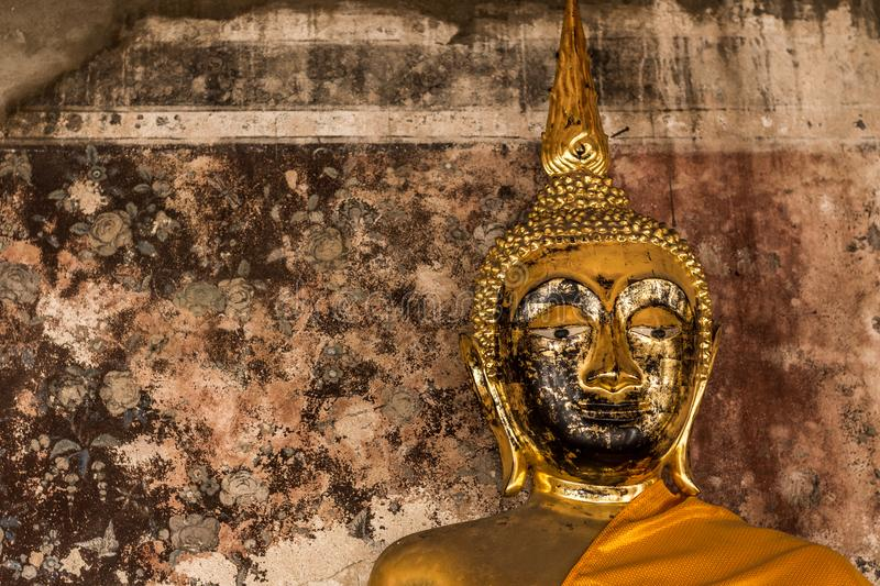 Buddha statue of Thailand and Asia royalty free stock photos