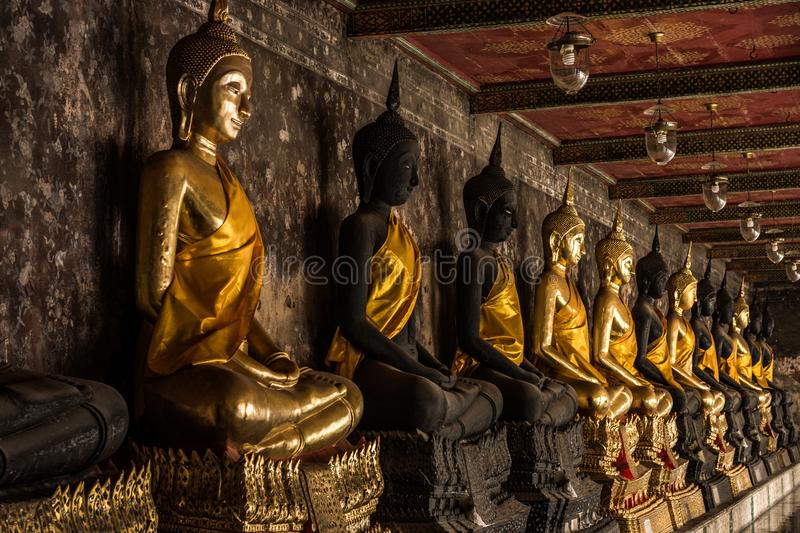 Buddha statue of Thailand and Asia royalty free stock photo