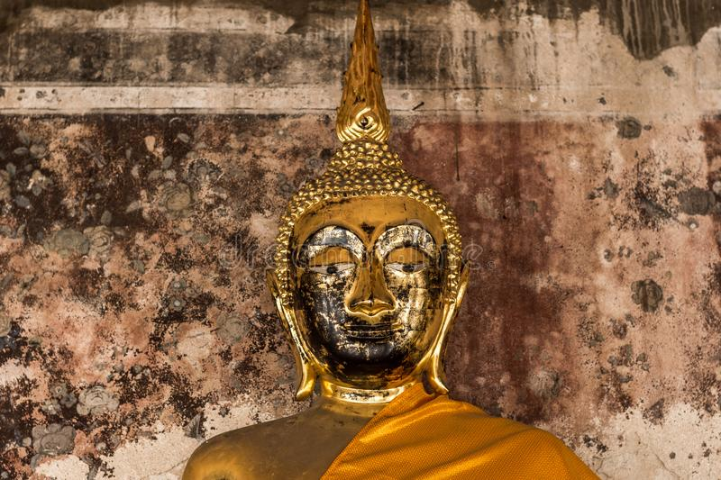 Buddha statue of Thailand and Asia stock photo