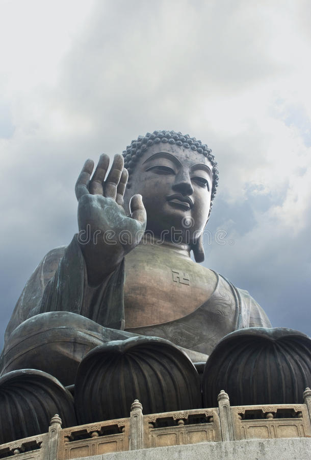 Download Buddha Statue Tian Tian, Hong Kong Stock Photo - Image: 11890456