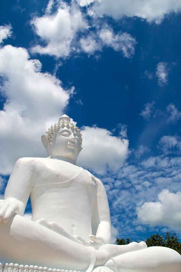 Buddha statue. Of Wat Phra Thart Jom Khitti royalty free stock photo
