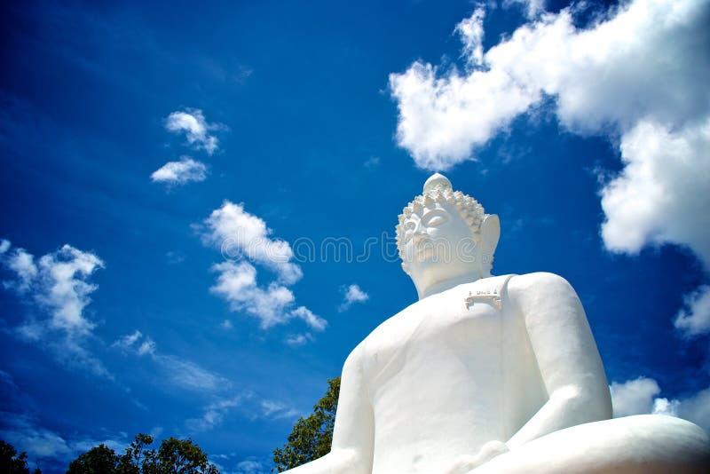 Buddha statue. Of Wat Phra Thart Jom Khitti stock image